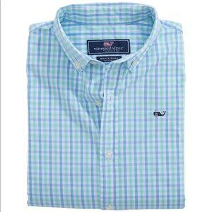 VINEYARD VINES | Plaid Long Sleeve Button Up Shirt